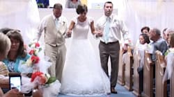 This Bride Re-Taught Herself To Walk For Her