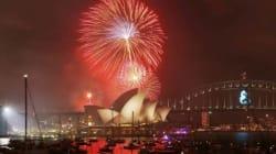 A Sydney è già 2015!