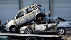 804 véhicules brûlés lors du Nouvel An, en baisse de