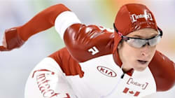 Les patineurs de vitesse et la fédération en