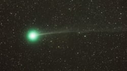 Not The Green Lantern. Just A Bright Comet You Can See Right