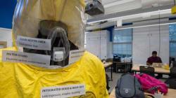 L'infirmière britannique contaminée par Ebola dans un état