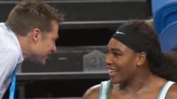 Serena Williams demande un café en plein match lors de la Hopman Cup