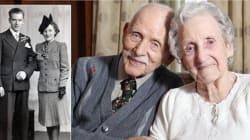 Muoiono mano nella mano a poche di distanza dopo 72 anni
