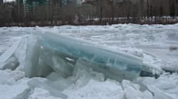 Man Plucked From Icy Bow