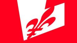 Le PLQ crée un débat avec un logo tout en rouge sur les réseaux sociaux