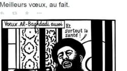 Charlie Hebdo: le tweet de vœux de la rédaction devient un symbole de la liberté