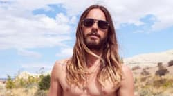 Jared Leto Goes Shirtless To Sell You His Fanny