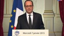 François Hollande en première