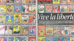Attentat contre Charlie Hebdo : des Unes en deuil et des hommages dans les médias