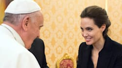 Angelina dal Papa... ma lui manca il