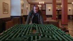 Dessinez le labyrinthe de l'hôtel qui a inspiré