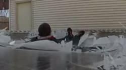 Pourquoi sauter sur un trampoline recouvert de