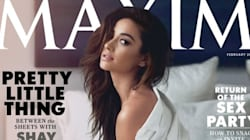 Shay Mitchell Strips Down For