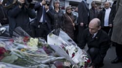 Canada's Public Safety Minister Lays Wreath At Charlie Hebdo