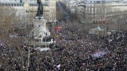 La marche républicaine à Paris en