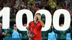 Tennis: 1000e victoire en carrière pour