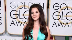 Golden Globes 2015: La robe de Lana Del Rey critiquée
