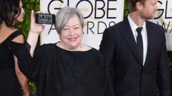 Golden Globes 2015: Kathy Bates est Charlie