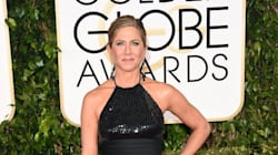 Jennifer Aniston Flaunts Her Legs In Revealing