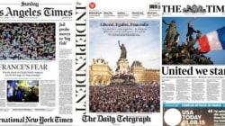 Les unes de la presse française et