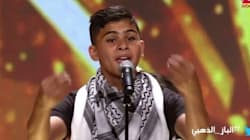 Un groupe d'enfants de Gaza fait pleurer le jury d'