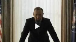 SPOILER - Il trailer della terza stagione di House of Cards