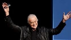 Led Zeppelin's Jimmy Page, 71, Dating