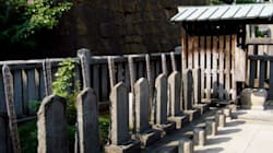 Japan's Beloved Samurai Graves Cornered By