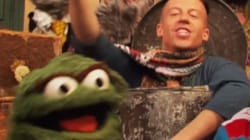 WATCH: Macklemore Pops Some Trash With Oscar The