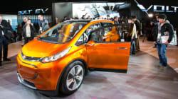 Une nouvelle compacte électrique présentée au Salon de l'auto de