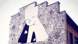 Découvrez Millo, street-artiste à l'univers