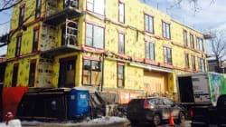 Un condo en construction devra être abaissé de plusieurs