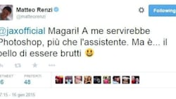 Renzi twitta a J-Ax: