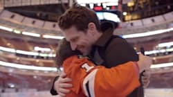 The Blackhawks Just Give A Blind Girl The Greatest Day Of Her