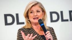 Arianna Huffington interviene alla DLD Conference a Monaco di Baviera