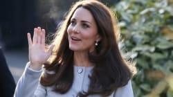 Kate Middleton's Coat Sparks Baby Boy