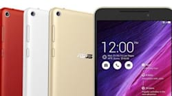 Asus Launches 8-inch Voice Calling Tablet In
