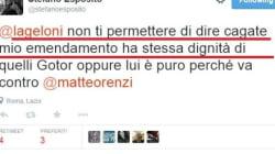 Stefano Esposito Vs Chiara Geloni su twitter: