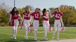 Victoria's Secret Sneaks A Clever Message Into Super Bowl-Themed