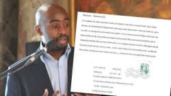 Un élu publie le courrier raciste qu'il a reçu sur
