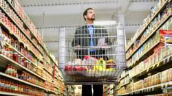 Les courses quotidiennes des Français moins chères depuis 2