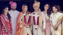 First Photos Of Newlyweds Soha Ali Khan And Kunal