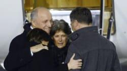 L'ex-otage Claudia Priest est arrivée en