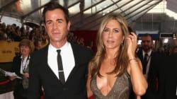 Jennifer Aniston, Justin Theroux Make A Splash At The SAG