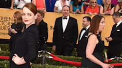 Emma Stone's Dress Almost Injures Naomi