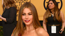 Sofia Vergara Flashes Her Huge Engagement