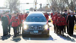 In Pictures: Canada Says Goodbye To Fallen