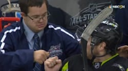 A Hockey Coach's Son Was The Real Star At The NHL All-Star