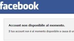 Facebook down, il social network fuori